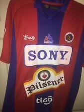 Cd Fas El Salvador Milan Santa Ana Soccer Football Soccer Jersey (Size Large)