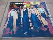 HALL OF FAMER CHARLIE DANIELS SIGNED ME AND THE BOYS LP ALBUM COVER JSA COA