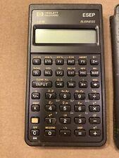 Vintage Hewlett Packard 10 B Business Financial  Calculator 1995