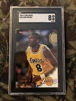 1996-97 SkyBox Hoops Kobe Bryant #281 RC Rookie SGC 8 NM Mint Lakers