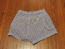 Women's VTG 90's Guess Jeans USA Red White Blue Jean Shorts Asap Rocky sz 31