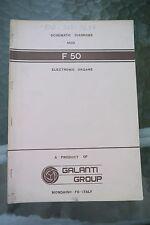 Galanti Group Organ Schematic Diagrams F50 Manual