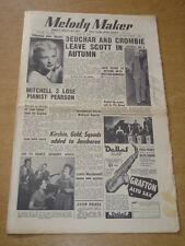 MELODY MAKER 1954 JULY 10 PATTI LEWIS DEUCHAR TONY CROMBIE BILLY ECKSTINE +