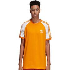 adidas Originals California 3-Stripes Tee Herren Shirt T-Shirt Oberteil Kurzarm