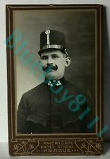 More details for 19th century austro hungarian soldier by american studios prague cdv photograph