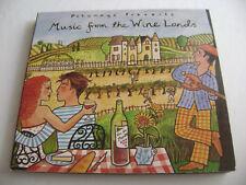 Putumayo Presents: Music from the Wine Lands (CD, 2006) Pauline Croze, Ana Laan