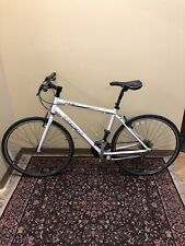 "Trek 7.1 FX Hybrid Bicycle 20"" Frame White Bontrager Shimano"