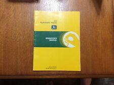 John Deere 312 Lawn Tractor Omm81656 Operators manual book