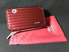 Eva Air Rimowa Amenity Kit- Brand New- Burgundy Red