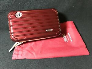 Eva Air Rimowa Amenity Kit- Brand New- Burgundy Red