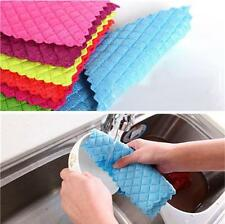 3×Magic Dish Washing Kitchen Wash Up Soak Up Cloths Towels Household Cleaning