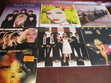 BLONDIE PARALLEL LINES Rare U.K. 180 GRAM LP SET + S/T & GREATEST HITS + HUNTER