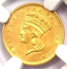 1856 Indian Gold Dollar (G$1 Coin) - NGC Uncirculated Details (UNC MS) - Rare!