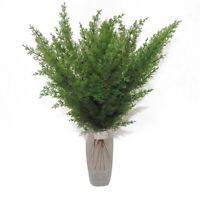 10x Artificial Pine Branches Flower DIY False Plants Christmas Tree Decorations