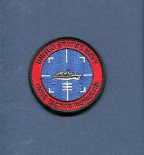 LOCKHEED S-3 S-3B VIKING WEAPONS TACTICS INSTRUCTOR US Navy Squadron Patch