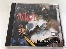 CD: N.W.A - Niggaz4Life (1991 Priority Records) Rare OG Press