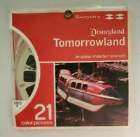 A179 SX Disneyland Tomorrowland view-master reels packet Swing Out A1791 2 & 3
