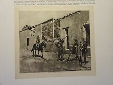"""Great B/W Print - """"Infantry, . Uniform, 1841-51"""" Published in 1890 by G.B."""