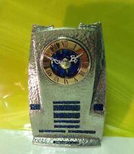 Handmade Pewter Desk, Mantel & Carriage Clocks