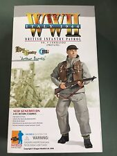 "Dragon WWII 1/6 scale 12"" British Infantry Soldier Commando Arthur Barnes 70621"