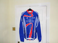 NEW Team GB SKY Olympic Rider Issue cycling bike LS shirt jersey Adidas