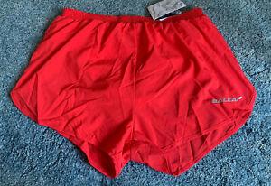 NWT Baleaf Men's Quick Dry Athletic 3 Inch Running Shorts. Sz Medium & Red.
