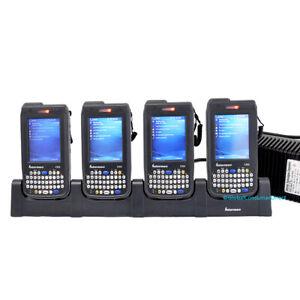 Lot of 4x Intermec CN3 CN3BQH84000E 1D/2D CN3B Barcode Scanner WiFi +CRADLE