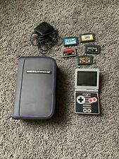 Nintendo GameBoy Advance NES Limited Edition GBA SP AGS-001 With Retro Games