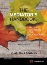 The Mediator's Handbook by Micheline Dewdney, Ruth Charlton (Paperback, 2014)