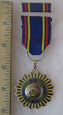 Post Ww2 Vintage Taiwan Roc China Pi Liang Outstanding Stall Medal Class B