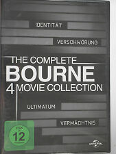 The Bourne Collection Sammlung - Identität, Verschwörung, Ultimatum, Vermächtnis
