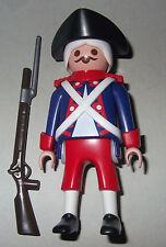 16605, francés, soldado, con tres spitz, rifle y bayoneta