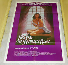 original HOUSE ON SORORITY ROW one-sheet poster