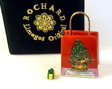 New French Limoges Trinket Box New York Rockefeller Center Christmas Tree Bag