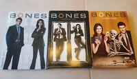 Bones DVD Individual Season 1 2 3  Deschanel Boreanaz New