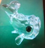 Swarovski Swan Signed Crystal Fish
