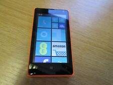 Microsoft Lumia 435 - 8GB - Orange (EE) Smartphone - Used - D6249