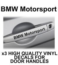 BMW MOTORSPORT Door Handle Vinyl Decals Stickers M Series MPOWER