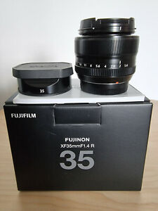 NEAR MINT Fujifilm Fujinon XF35mm F1.4 R Lens