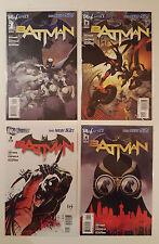 BATMAN #1-4 1st Print 2011 DC Comics