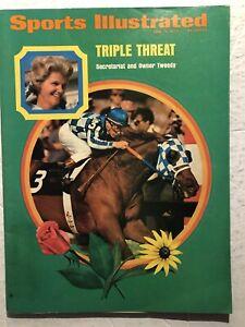 1973 Sports Illustrated SECRETARIAT Penny Tweedy TRIPLE CROWN No Label TURCOTTE