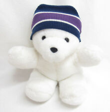AEROPOSTALE WHITE TEDDY BEAR STUFFED PLUSH TOY--HTF