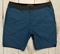 NITROUS BLACK Men's Board Shorts Swim Surf Beach Trunks Size 36