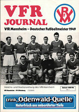 Oberliga Baden-Württemberg 1989/90 VfR Mannheim - FV Offenberg, 12.08.1989