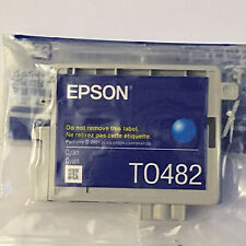 NEW OEM Genuine EPSON 48 T0482 Cyan Color Ink Cartridge