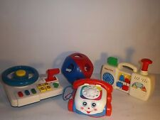 FISHER PRICE AND V-TECH LOT OF 3