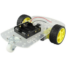 2WD Robot Car Chassis Kit For Arduino / Raspberry Pi w/ Encoder and Battery Box