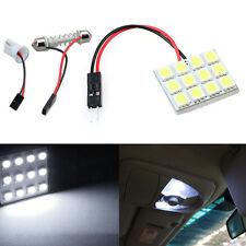 12 SMD 5050 LED T10 BA9S Dome Festoon Car Interior Light Panel Lamp 12V Salable