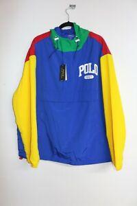 Polo Ralph Lauren 1967 Multi Panel Farbe WINDBREAKER, XL, selten, Brandneu