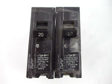 Murray Type Mp-T 1 Pole 20 Amp Breaker 10kA 120/240V Hacr Type Mp120 Lot Of 2